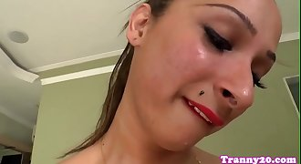 Cocksucking trannies getting assfucked
