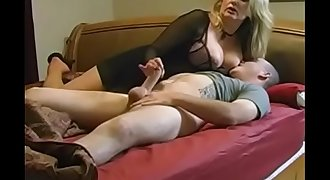 Blonde Mummy fucks how when was young